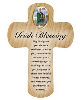St Patrick's Day Irish Blessing Pocket Cross