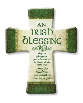 St Patrick's Day Irish Blessing Cross