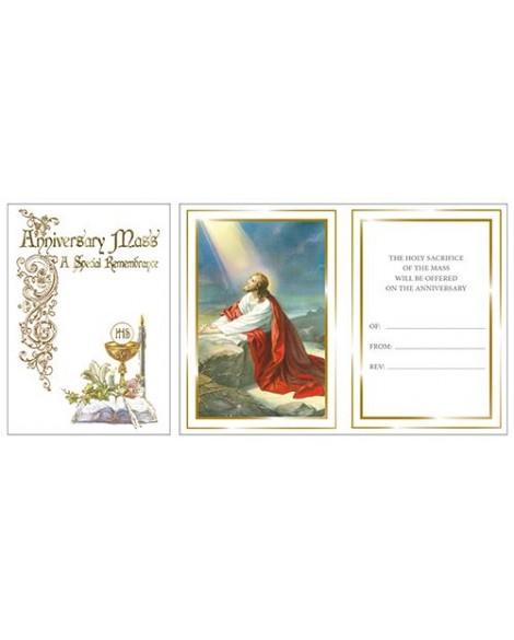Anniversary Mass Card