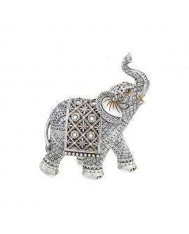 Lesser & Pavey Silver Elephant Figurine