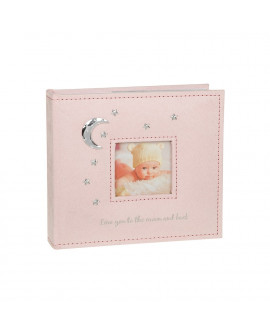 Baby Girl Photo Album Pink