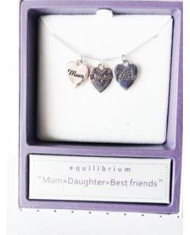 Equilibrium Necklace Devotional Mother Daughter
