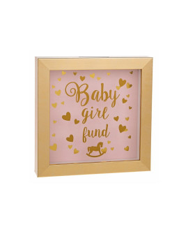 Baby Money Fund Box Pink