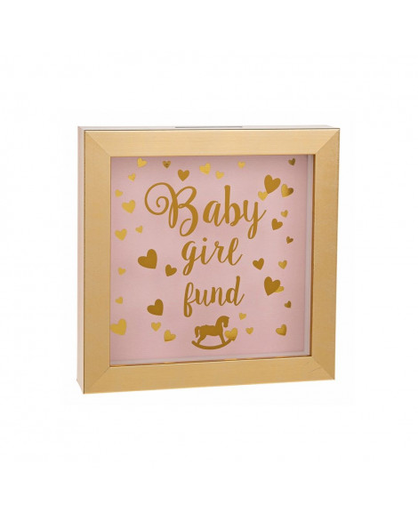 Baby Money Fund Box Pink