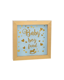 Baby Money Fund Box Blue