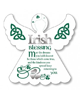 St Patrick's Day Irish Blessing Angel