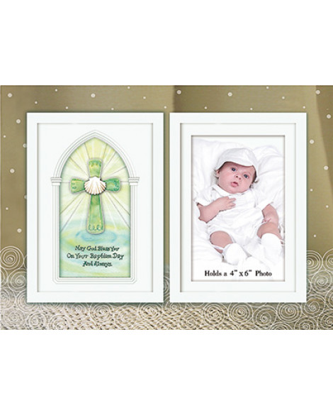 BAPTISM PHOTO FRAME GLASS