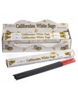Incense Sticks Stamford Californian White Sage Pk of 6 Tubes