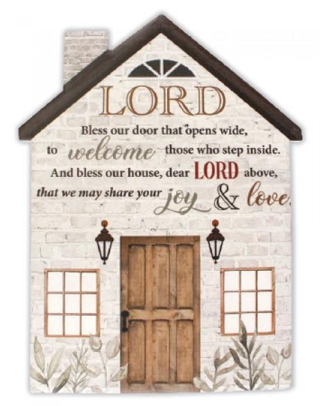 House Blessing Porcelain Plaque