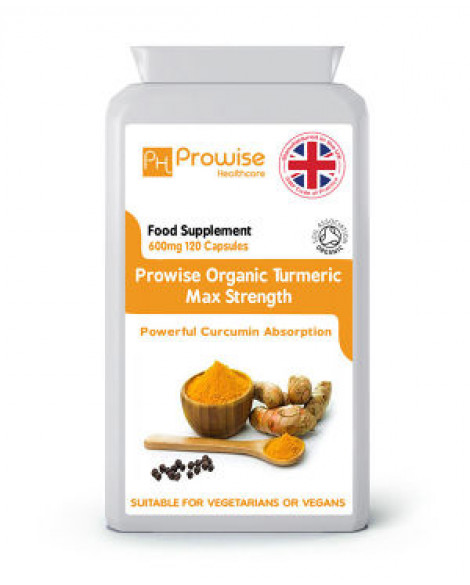 Organic Turmeric Suitable For Vegetarians and Vegans