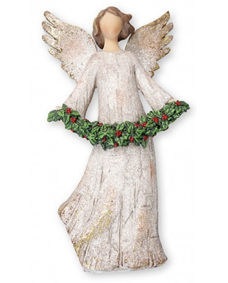 Christmas Heavenly Angel & Christmas Garland