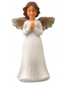 Angel Figurine Shabby Chic Praying Hands