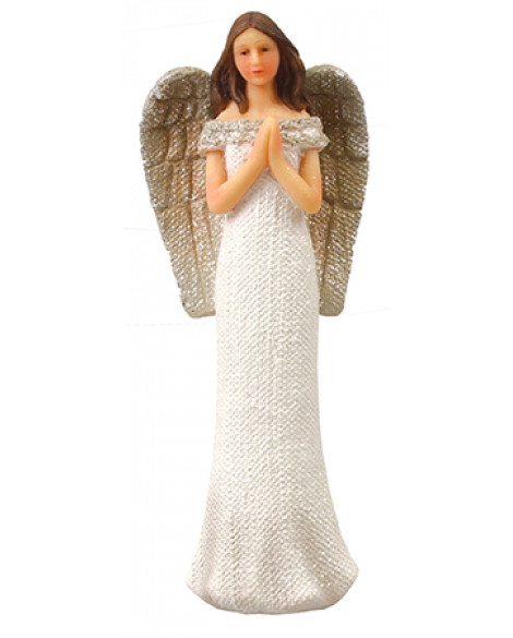 Angel Ornament Glitter Angel  Decoration Praying Hands