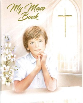 First Holy Communion Small Prayer Book Boy