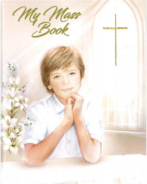 First Holy Communion Small Prayer Book Boy