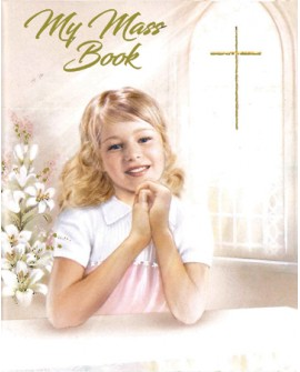 First Holy Communion Small Prayer Book Girl