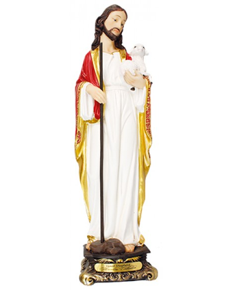 Jesus Figurine The Good Shepherd