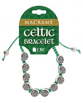 St Patrick's Day Bracelet Macrame
