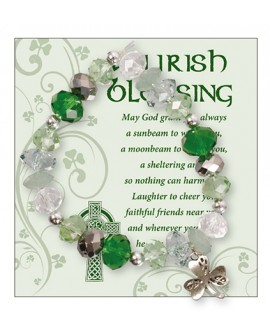 St Patrick's Day Bracelet Irish Blessing