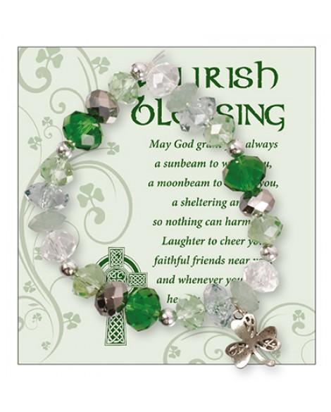 St Patrick's Day Bracelet Irish Blessing