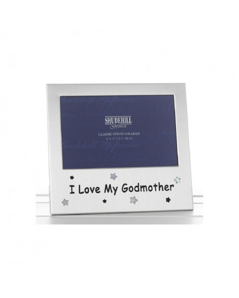 Photo Frame Godmother Metal 6x4