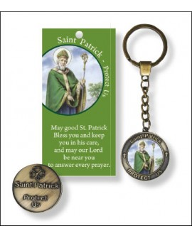 St Patrick's Day Key Ring