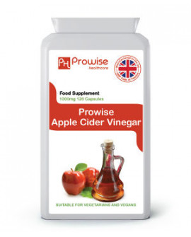 Apple Cider Vinegar 500mg 120 Capsules by Prowise Healthcare