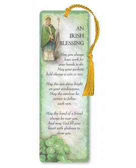 St Patrick's Day Bookmark