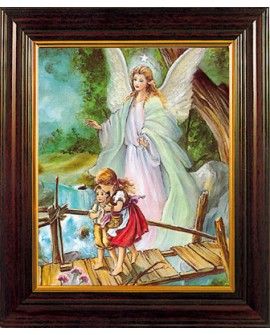 Guardian Angel Framed Picture