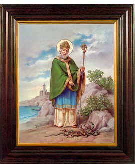 St Patrick's Day Wood Framed Picture