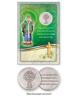 St Patrick's Day Card & Pocket Token Set