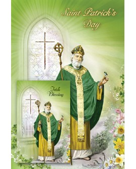 St Patrick's Day Card & Prayer Card Set