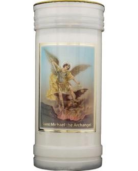 St Michael Pillar Candle