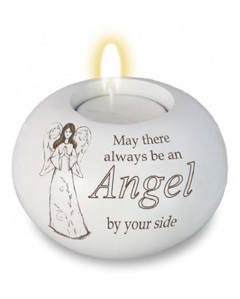 Guardian Angel Tea Light Candle Holder
