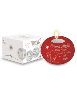 Christmas Candle Holder Silent Night