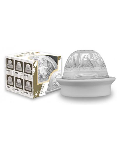 White Porcelain Dome Last Supper