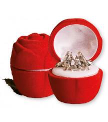 CHRISTMAS NATIVITY SET IN A LUXURY VELVET BOX