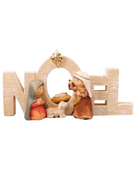 CHRISTMAS NATIVITY SCENE NOEL
