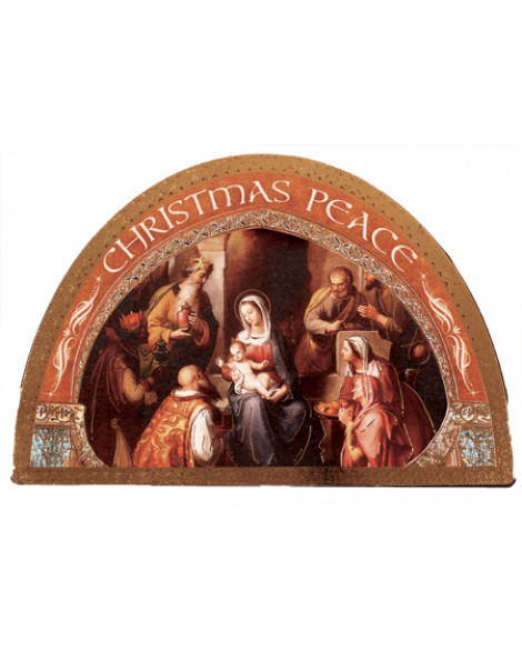 CHRISTMAS PLAQUE ICON NATIVITY