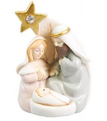 CHRISTMAS MINI NATIVITY SET WITH A STAR