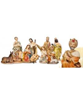 "Christmas Nativity Set 11 Figures  10"""
