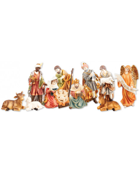 Christmas Nativity Set 11 Figures 15 cm
