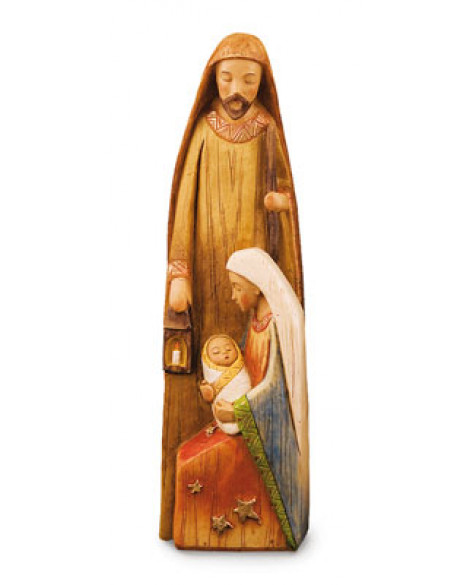 CHRISTMAS HOLY FAMILY NATIVITY FREE STANDING