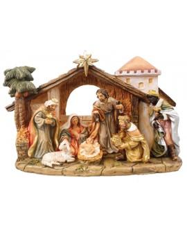 CHRISTMAS NATIVITY SET 7 FIXED FIGURES