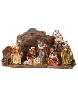 CHRISTMAS NATIVITY SET FREE STANDING