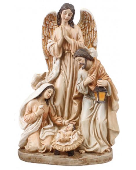CHRISTMAS ANGEL NATIVITY FREE STANDING