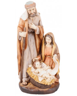 CHRISTMAS NATIVITY FIGURINE FREE STANDING