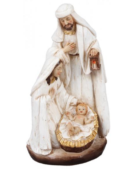CHRISTMAS NATIVITY WHITE FIGURINE