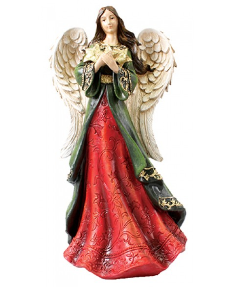 Guardian Angel Figurine Star 15 1/4""