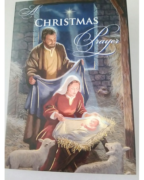 Christmas Cards Pack 4 Nativity Scenes